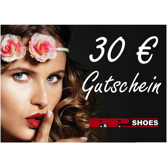 P&P Shoes Gutschein 30 Euro