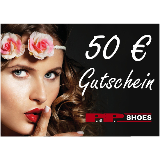 P&P Shoes Gutschein 50 Euro