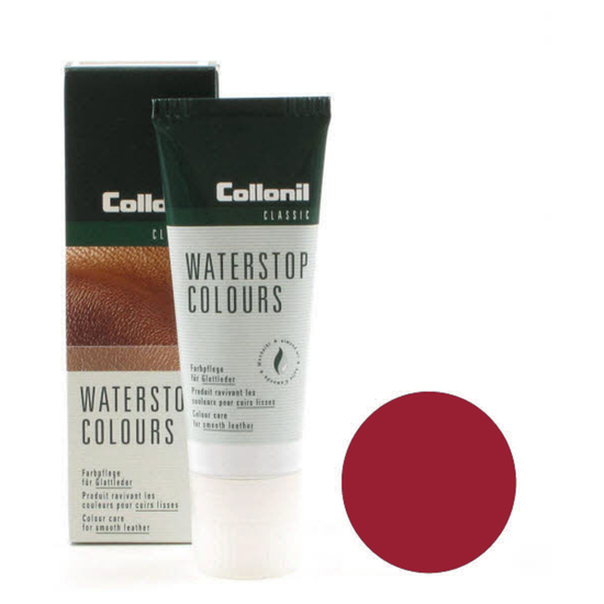 Collonil Pflegecreme Waterstop Colours Rot