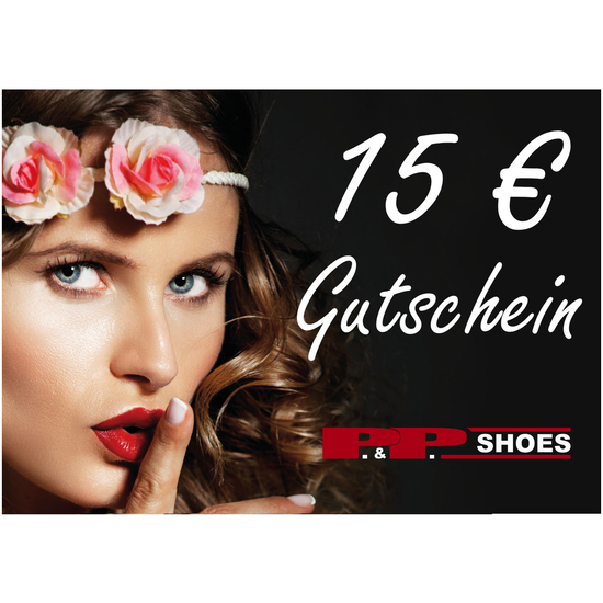 P&P Shoes Gutschein 15 Euro