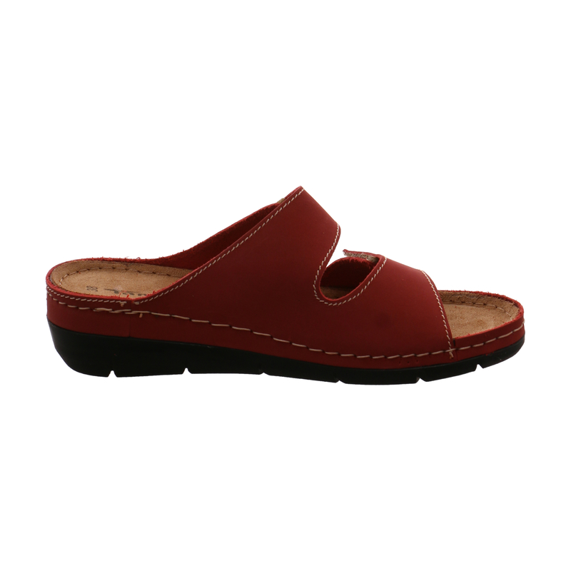 Tamaris Pantolette Lea für Damen in rot | P&P Shoes