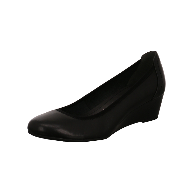Tamaris Keilpumps Borage für Damen in schwarz | P&P Shoes