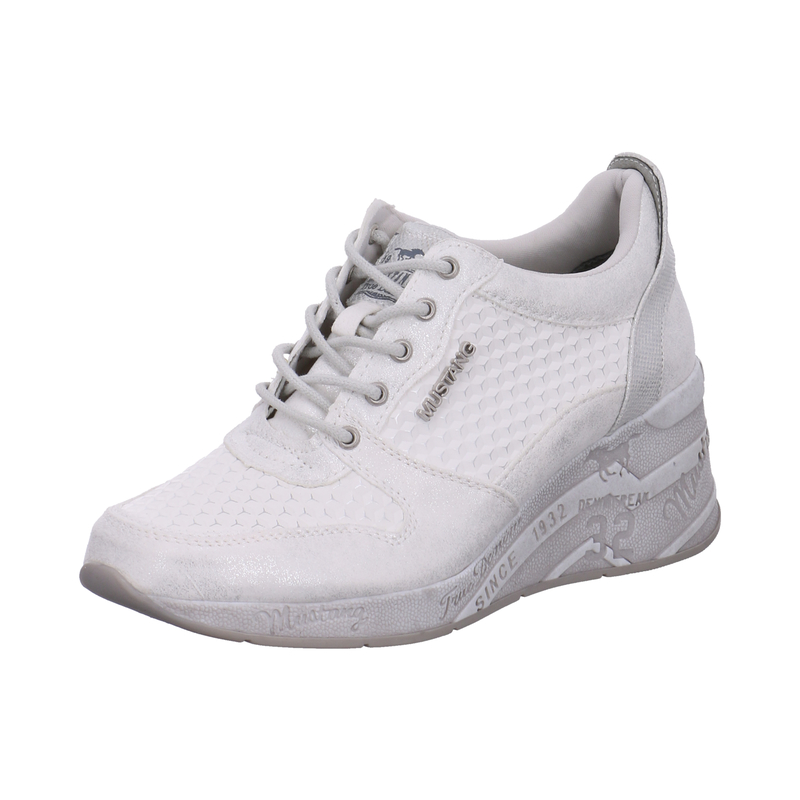 Mustang Sneaker low für Damen in weiß | P&P Shoes