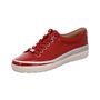 Woms Lace-up red naplak