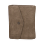 Small Wallet with Flap khaki